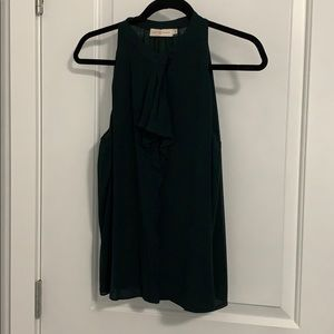 Tory Burch Forest Green Blouse